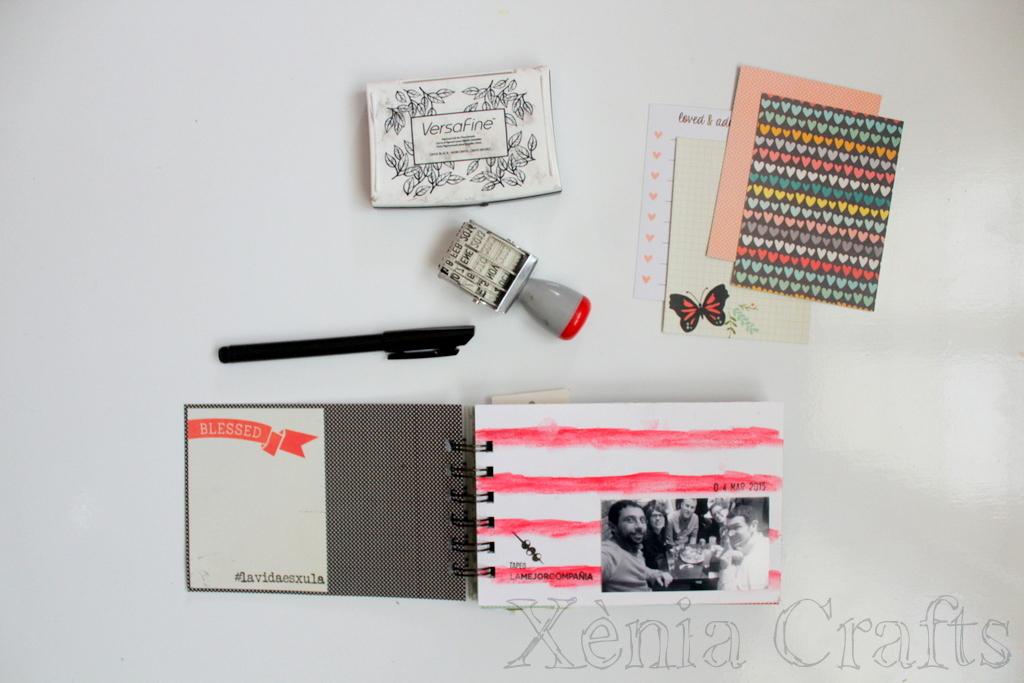 Project Life Marzo Xènia Crafts-002