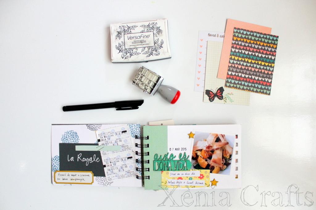 Project Life Marzo Xènia Crafts-003