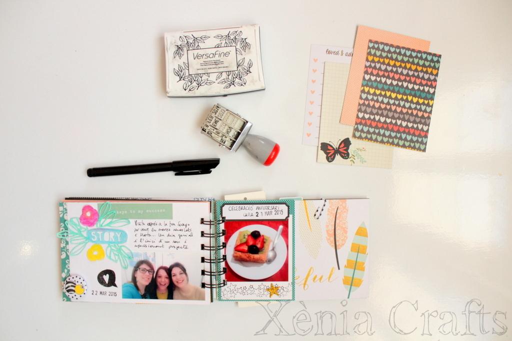 Project Life Marzo Xènia Crafts-011