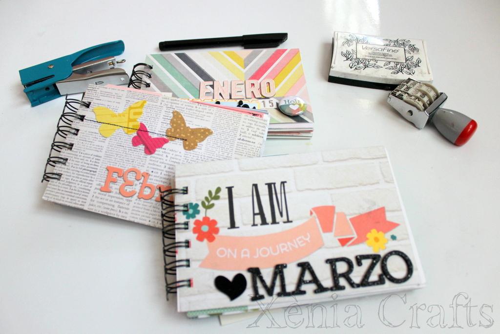 Project Life Marzo Xènia Crafts