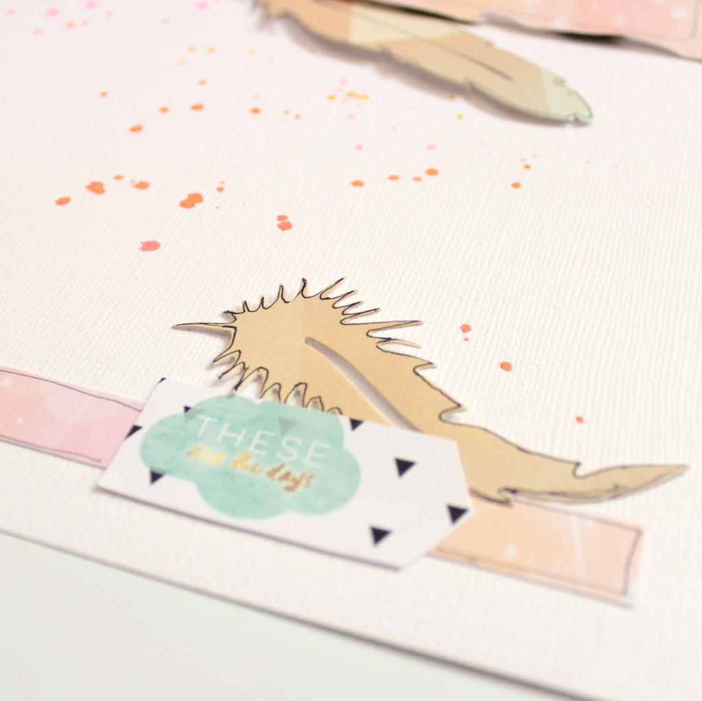 23. Proyectos Scrapbooking These Days Xènia para Kimidori