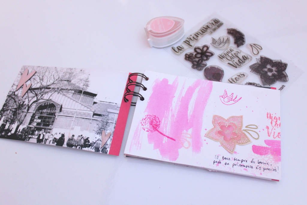 07. Tutorial sellos scrapbooking primavera