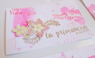 12. Tutorial sellos scrapbooking primavera