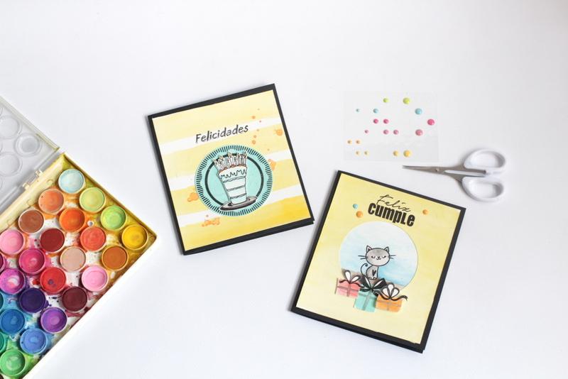Tarjeta de cumpleaños xenia crafts