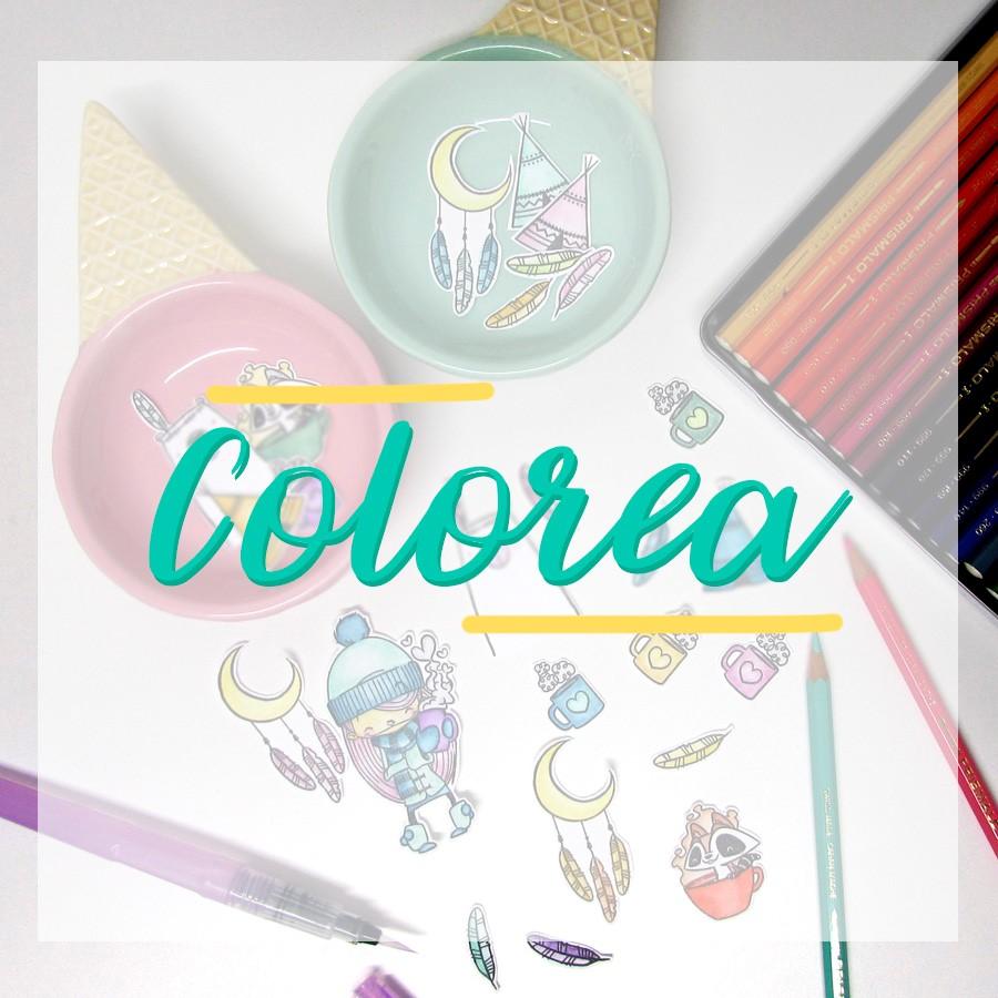 Colorea con Sellos y Distress | Xènia Crafts
