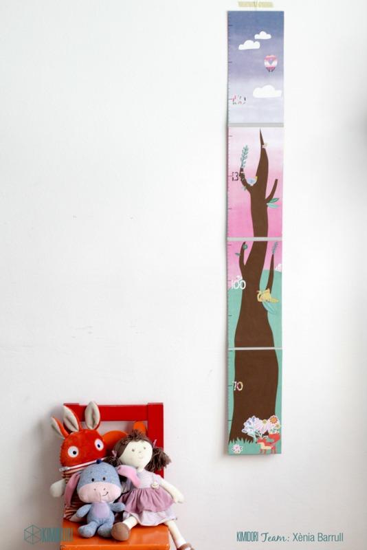 Medidor de Altura Para Niños DIY-009
