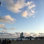 Meriendas en la playa! midnia inlove puroamor conmiradademadre Barcelona