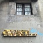 Vull viure aventures i vull viureles amb tu Barcelona streetart