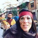 Que llegan los indios!!! midnia inlove puroamor conmiradademadre garbansos carnaval2018