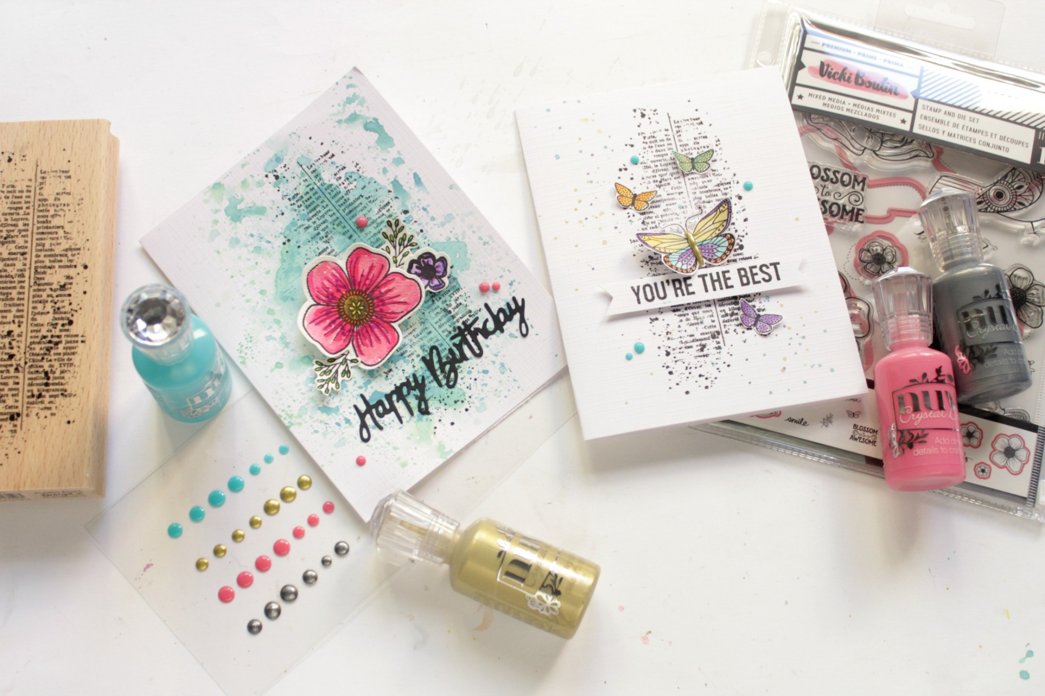 tarjeta handmade Cardmaking 01