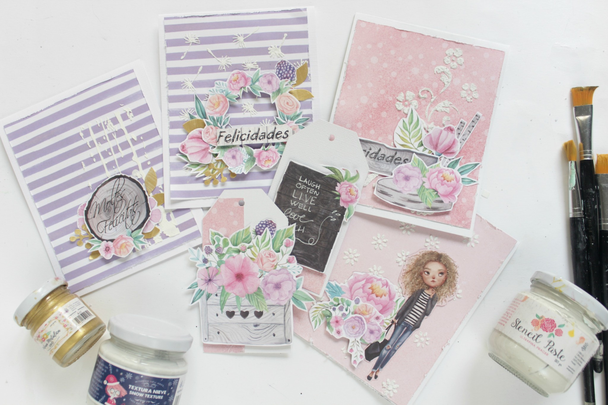 tarjetas con pasta de modelar-011