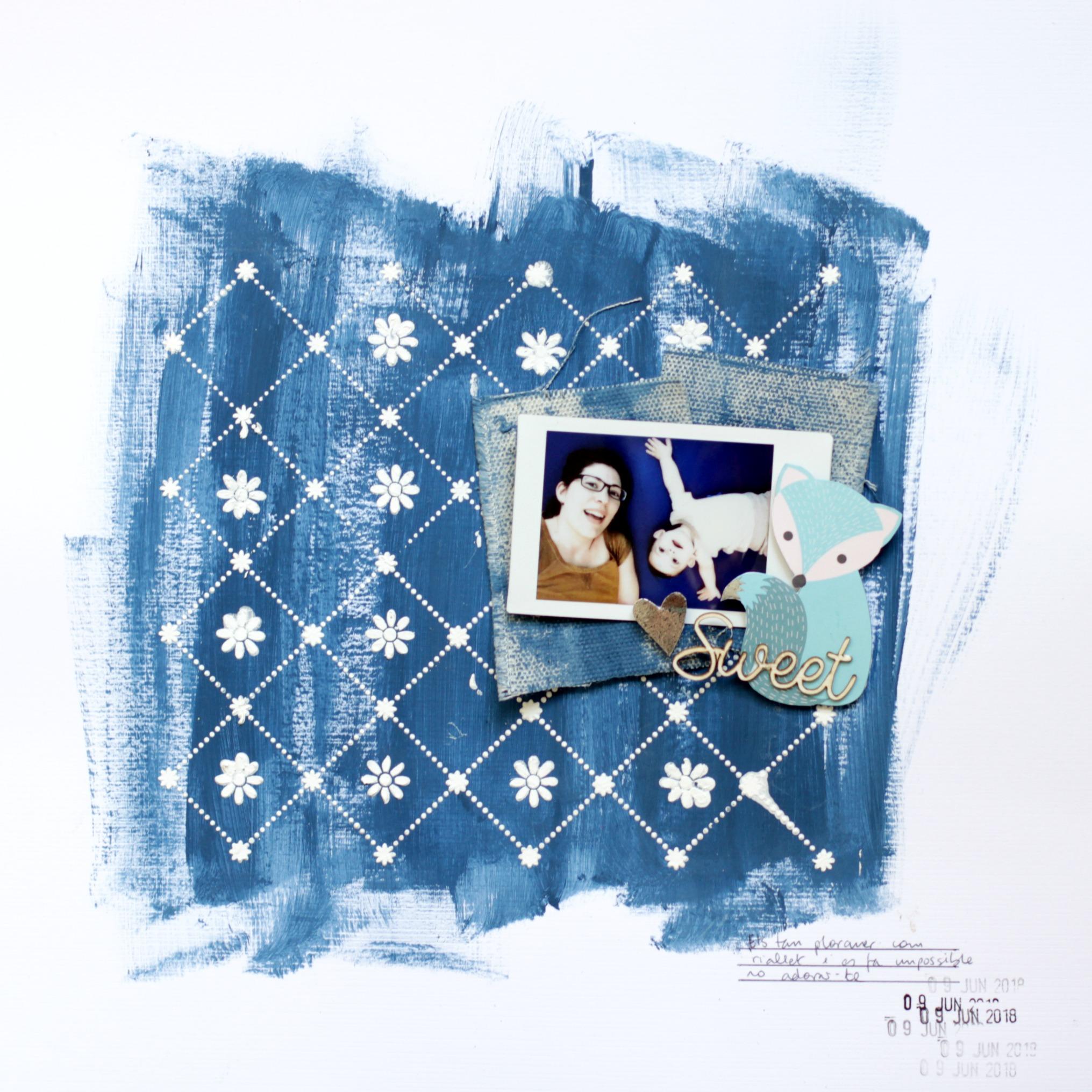 Layout con fondo batik 01