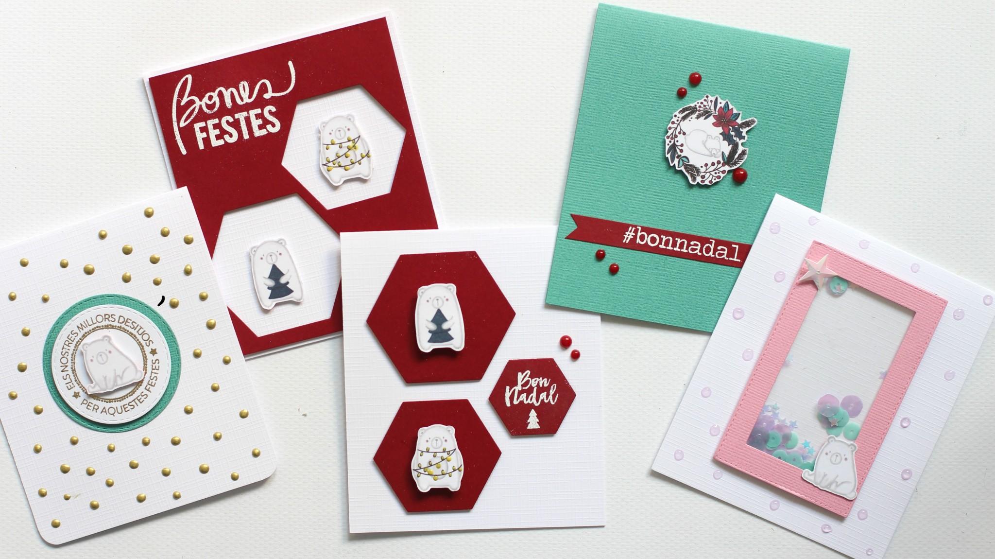 Tarjetas Navidad Fáciles 01