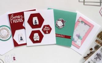 Tarjetas Navidad Fáciles 05