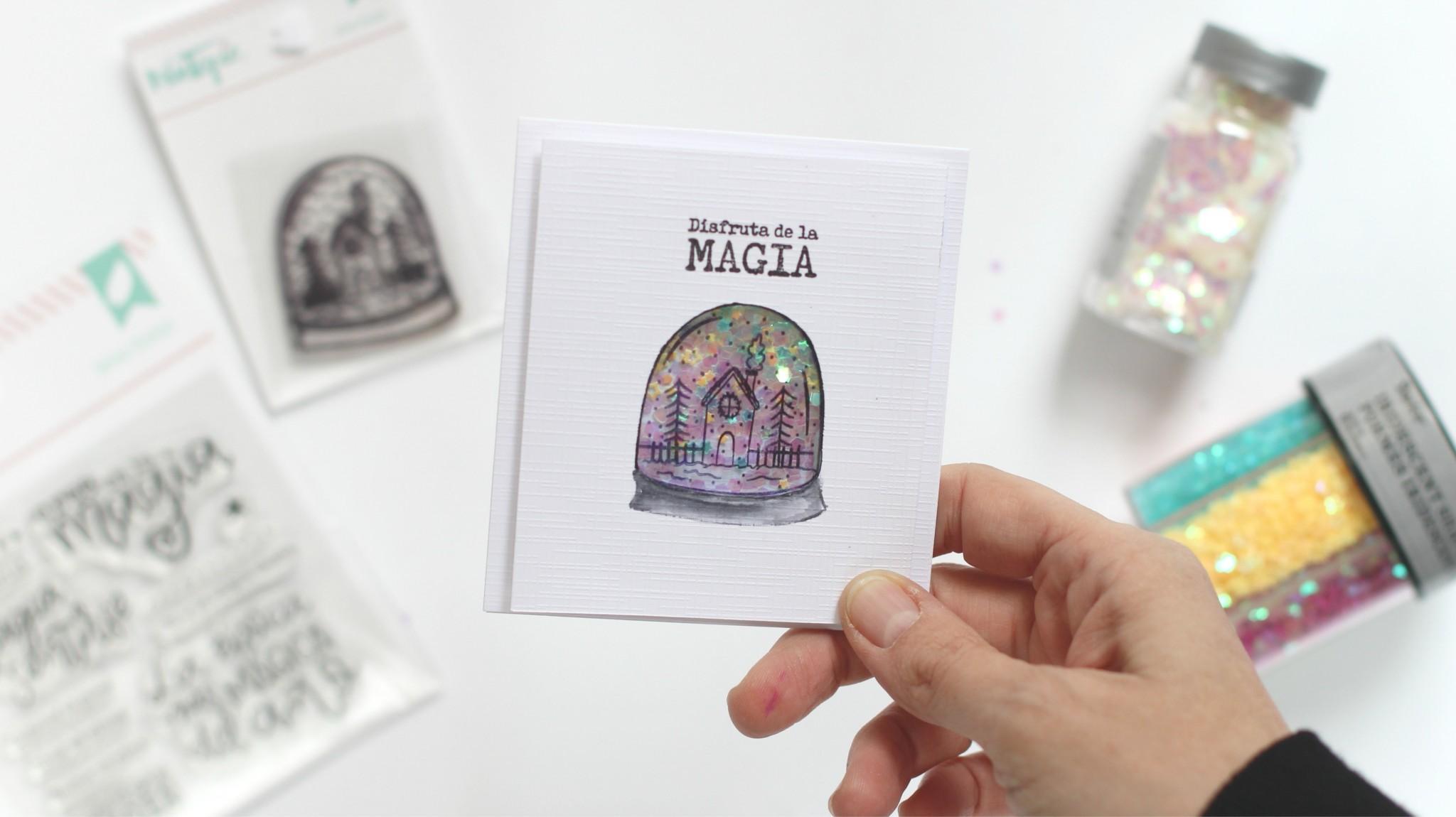 tarjeta de navidad shaker 01