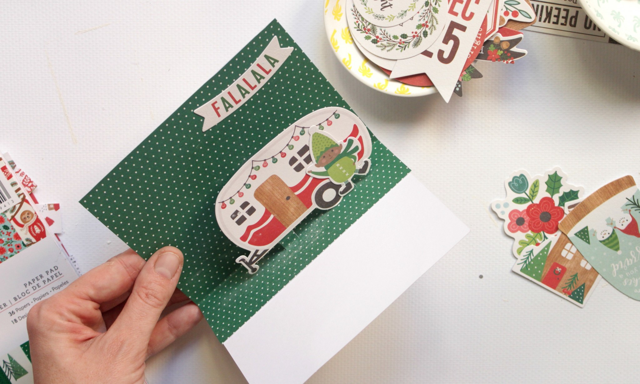 tarjetas de Navidad rápidas 02
