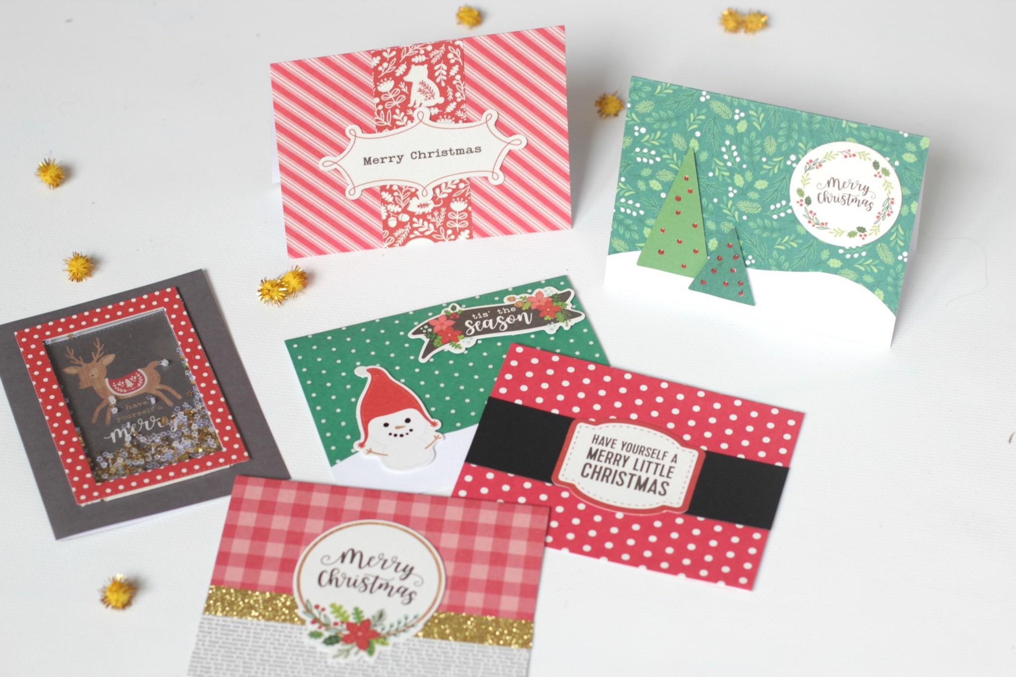 tarjetas de Navidad rápidas 05