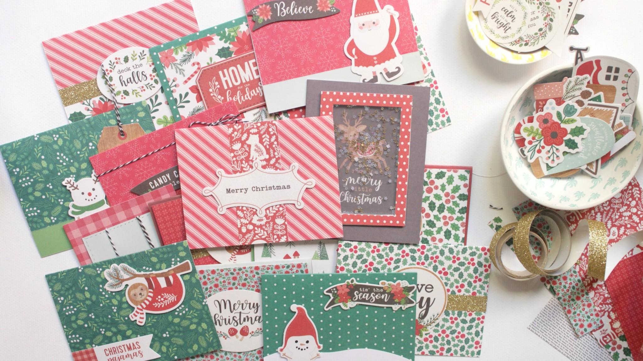 tarjetas de Navidad rápidas 06