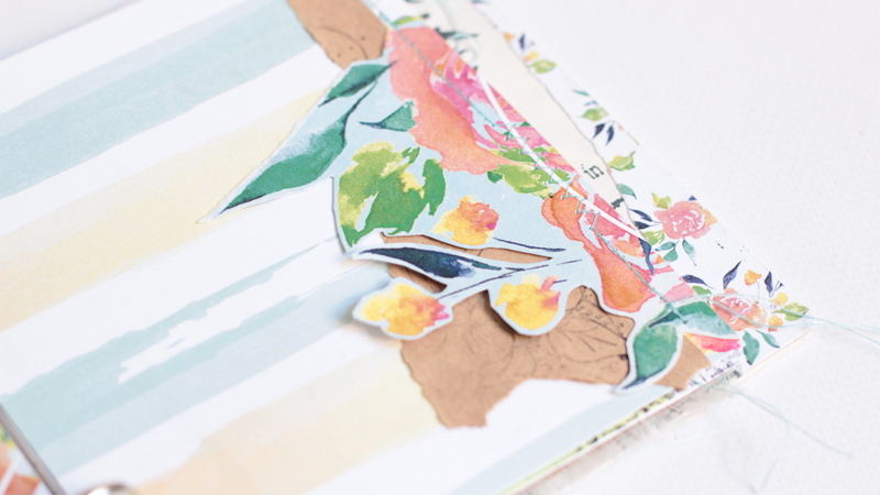 Mini álbum primaveral con rosa rosae-004